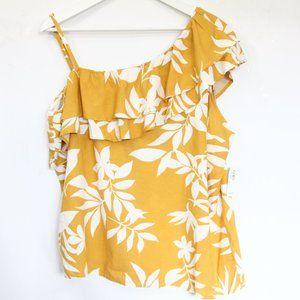 Old Navy Hawaiian Tank Top Women Shirt NEW